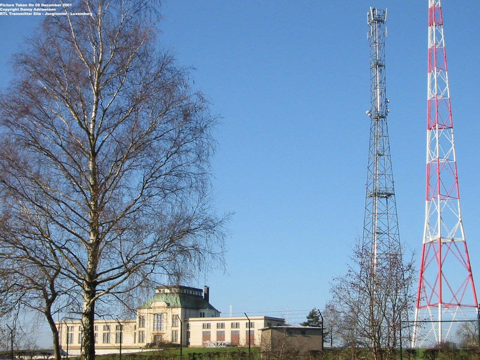 the antenna site | luxembourg | transmitter site junglinster